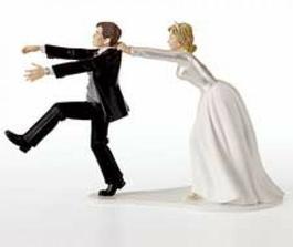 podotýkám že svatba je Peťovo nápad, ale tenhle páreček mě teda dojal :-))
