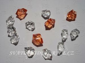 Tyhle krystalky ale průsvitný ...