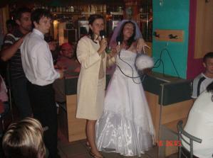 Prostě jsem mu neutekla :-) ani jsme nestačily s Gabuškou dozpívat Když se načančám :-)