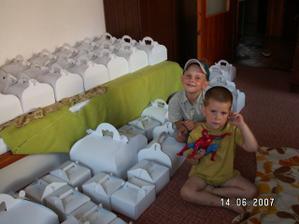 Moji malí mravenečci pomocníčci s částí výslužek - Mareček a Martínek a Spiderman