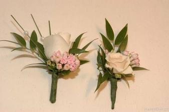 Květiny do klopy