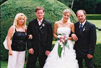 tatínek a nevl.maminka ženicha