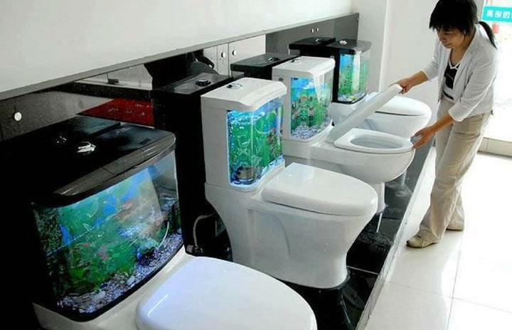 Inšpirácie, ktoré ma zaujali :) - akvárium pre malé byty :))))