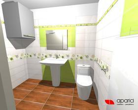 A naša kúpelňa v zeleno,len ktorú si vybrať :)))