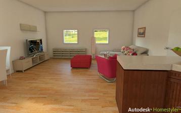 Kuchyňa + obývačka