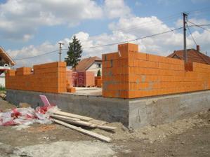Wienerberger 44 obvodové múry