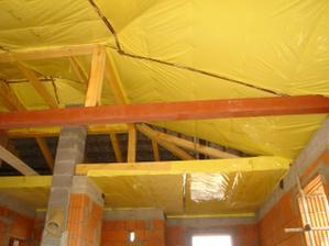 Tepelná izolácia stropu a izolácia proti vlkosti