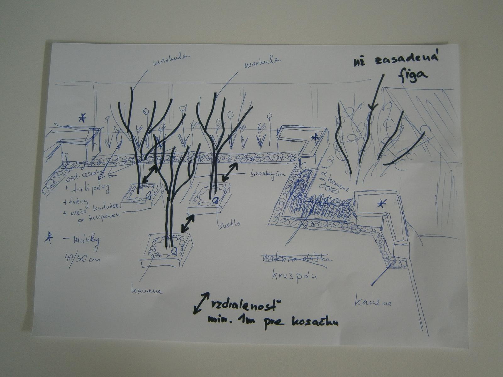 Modern Garden Linear324 - naša prímorská - takto nejako to u mna vznika... najskor na papier, pero fixky, nasledne 2D verzia v mierke prekreslena a potom uz 3D vizualizacia...