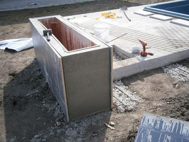 Modern Garden Linear324 - naša prímorská - prva doska dole - ole :D