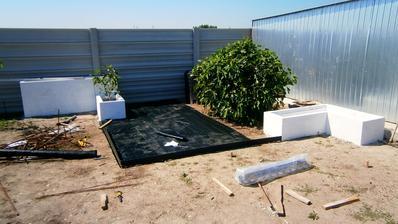 zahrada v procese