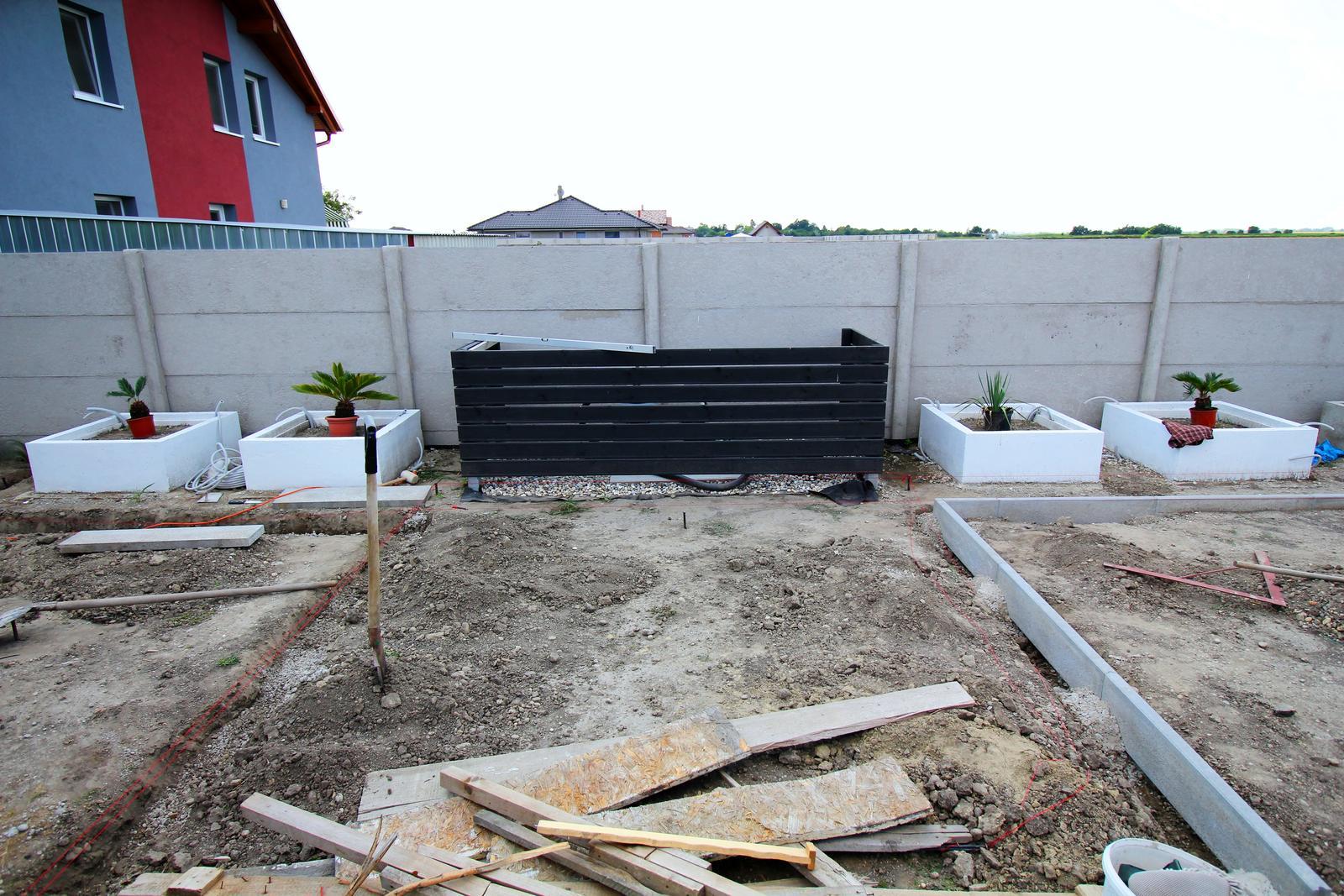 Modern Garden Linear324 - naša prímorská - pokracujem podla planu...