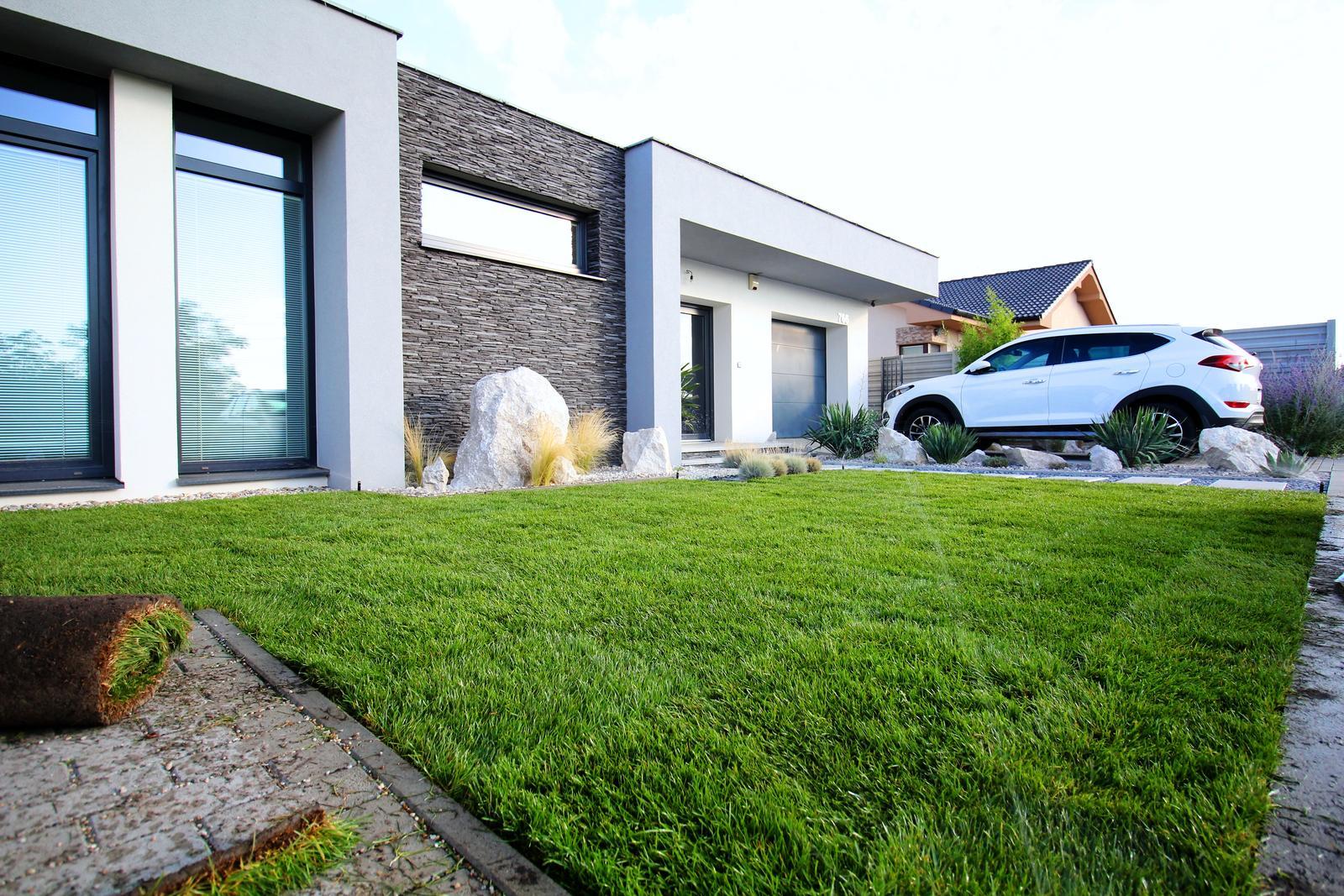 Modern Garden Linear324 - naša prímorská - rano pri vychadzajucom slnku :) , uz len pockat nech sa zrastie