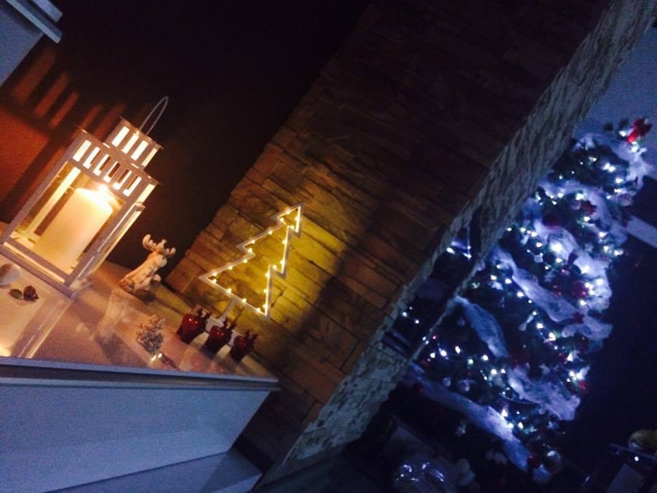 LINEAR 324 od...do... - jedna mobilova v prítmí :) Milujem Vianoce 2016 a svetielka :)