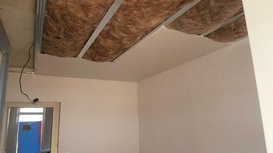 zateplenie stropu - interier