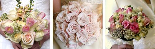 květiny v růžové
