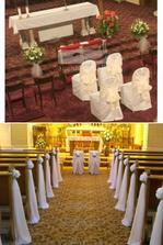 takto si predstavujem výzdobu kostola