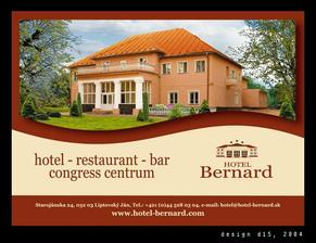 tu sa budeme hostiť ... hotel Bernard v Lipt. Jáne