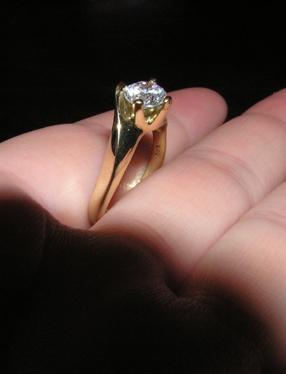 V & J . . . . . 26. august 2006 - . . . tento nádherný snubný prstienok