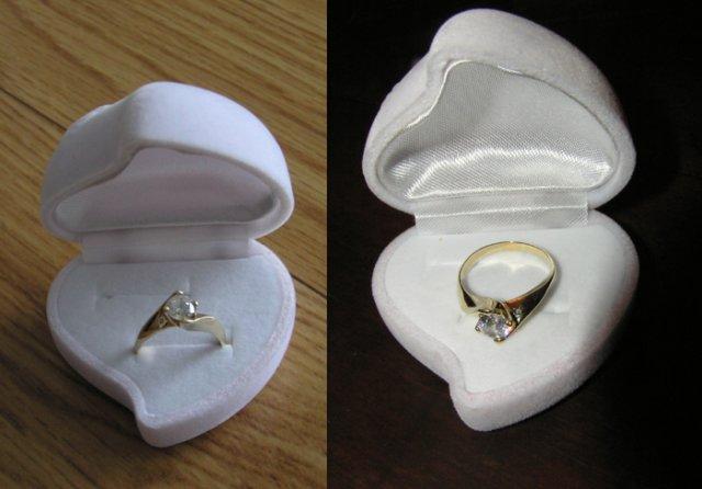 V & J . . . . . 26. august 2006 - ešte pár záberov toho najkrajšieho prstienka (aspoň podľa mňa ;-)))