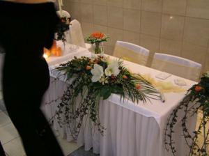 ikebana na hlavný stôl - už ju mám objednanú