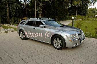 naše svadobné autíčko - Chrysler 300C