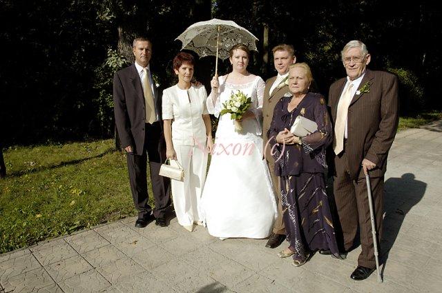 Veronika K.{{_AND_}}Jozef Š. - s rodičmi