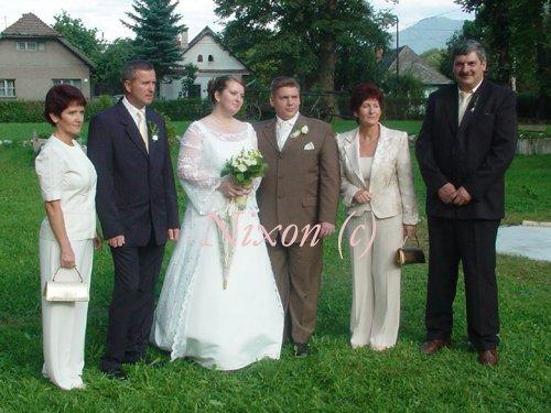 Veronika K.{{_AND_}}Jozef Š. - moji rodičia a krstní rodičia