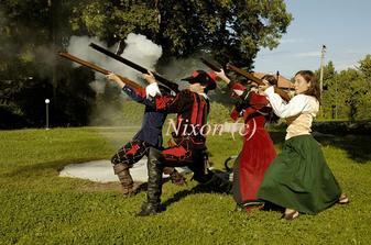 skupina historického šermu Corvus Arma nám zastrelila slobodu :-)