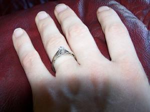 muj zasnubni prstynek