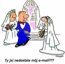 do svatebních novin:-)