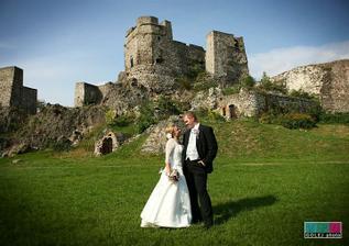 nádherný levický hrad