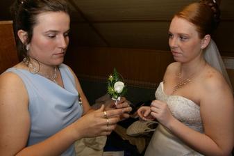 Vonička pro ženicha.