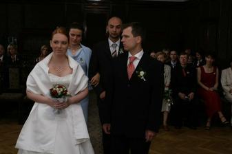 Ženich a nevěsta.