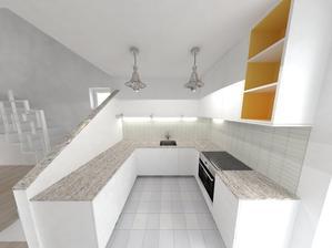 kuchyňa takto...ale asi este bude mensia zmena pri pracovnej doske...:-)