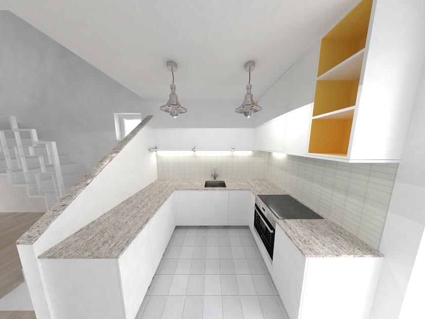 Planovanie a realizácia interieru - kuchyňa takto...ale asi este bude mensia zmena pri pracovnej doske...:-)