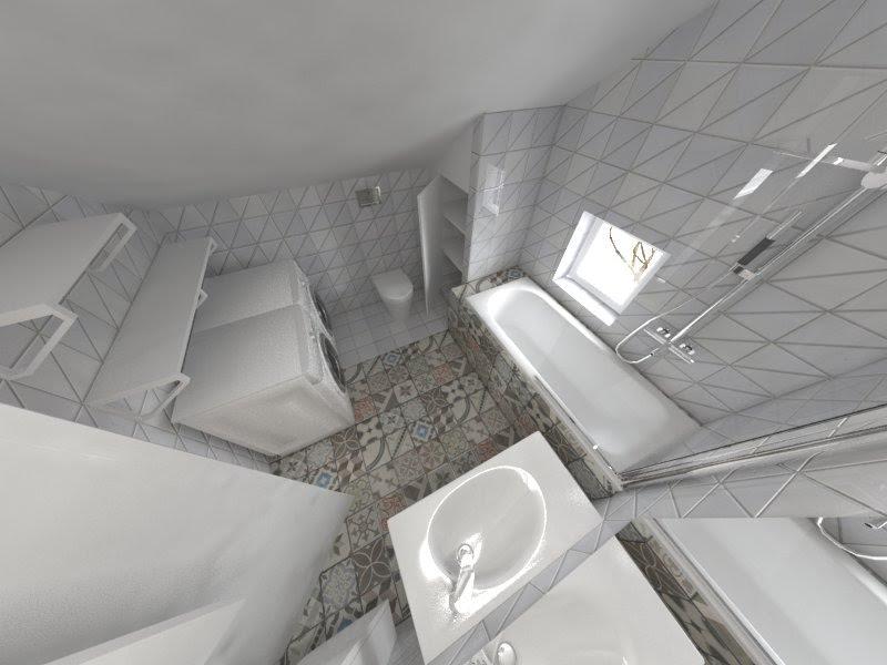 Planovanie a realizácia interieru - Kupelka na poschodi