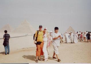 egypt.svatební cesta