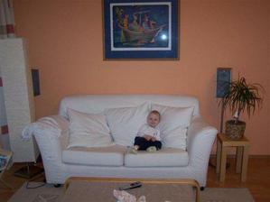 Nejmladší uživatelka bytu :-)