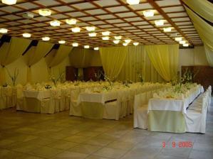 miesto svadobnej hostiny