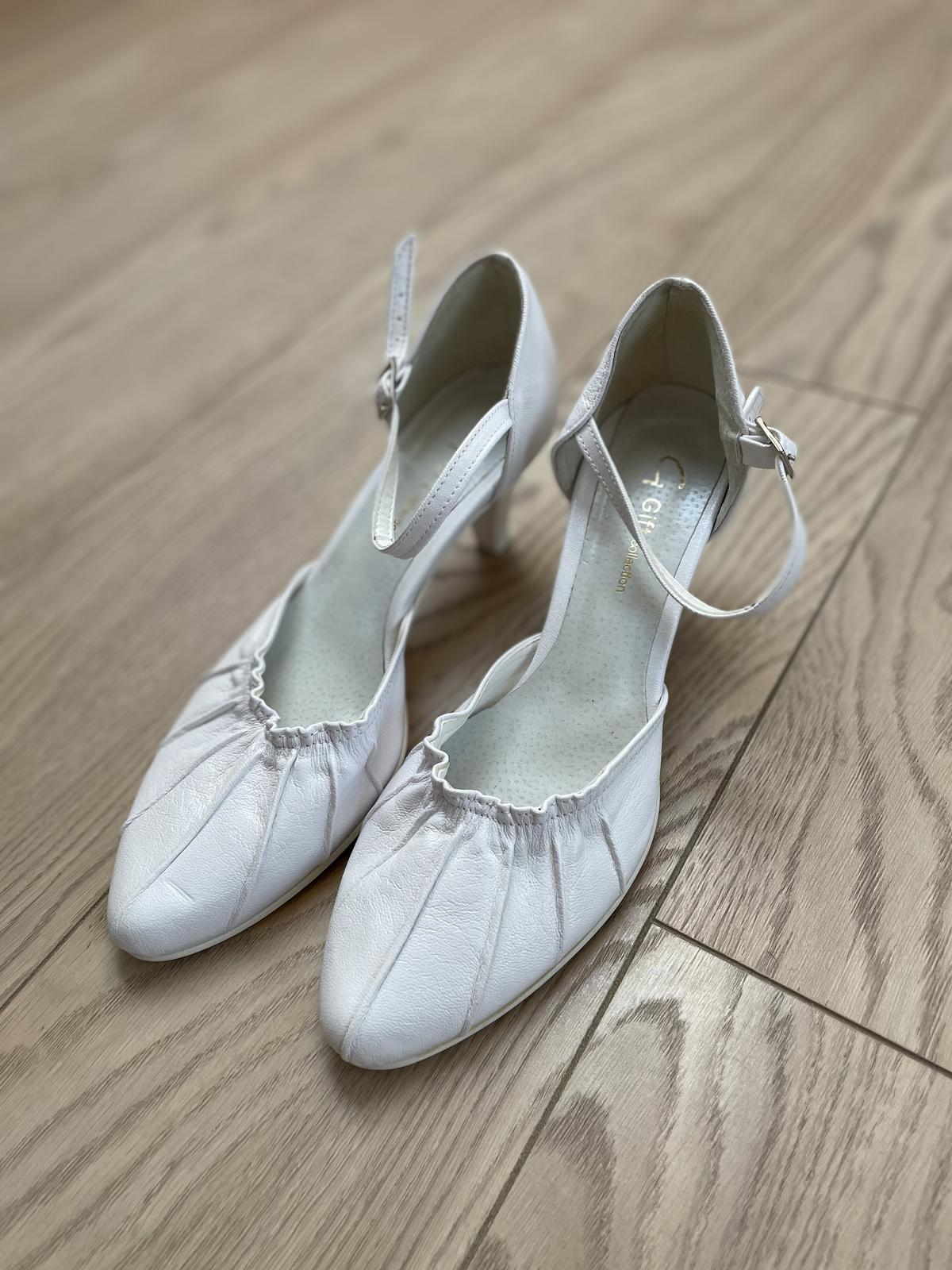 Svadobné topánky veľ. 37 - Obrázok č. 1