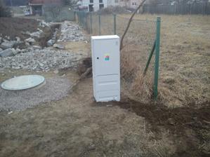 22.03.2012 prípojka elektriny hotová už len zapojiť.