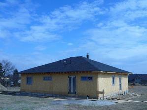 střecha hotová