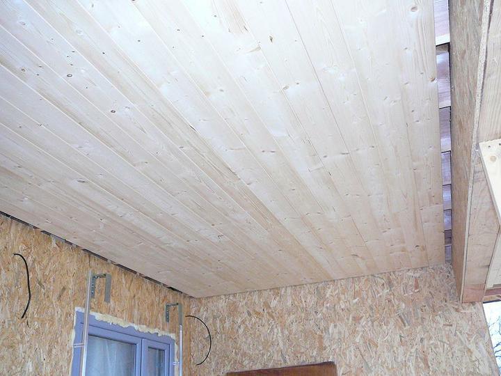 Parozábrana,střecha,stěny - podbití terasy