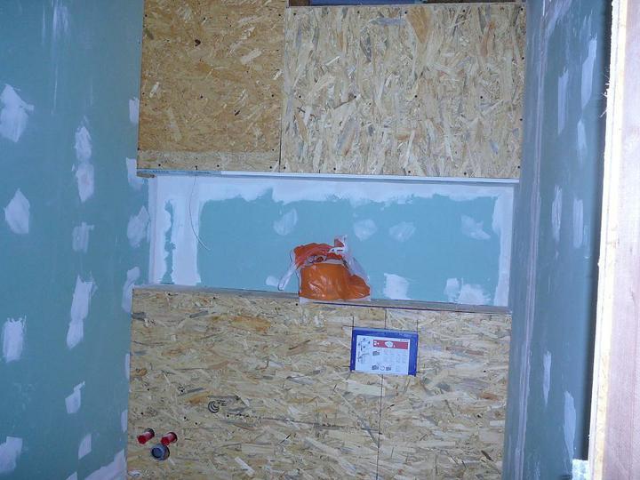 Podbití a vnitřky - WC i se sadrokartonem