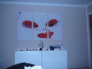 ložnice  - obraz vybíral manžel