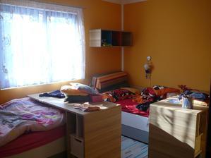 dětský spací pokoj