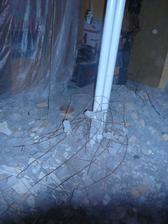 rozbité panelové zdi