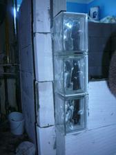 roh koupelny z rohových luxfer