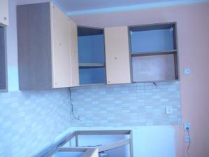 montáž nové kuchyně