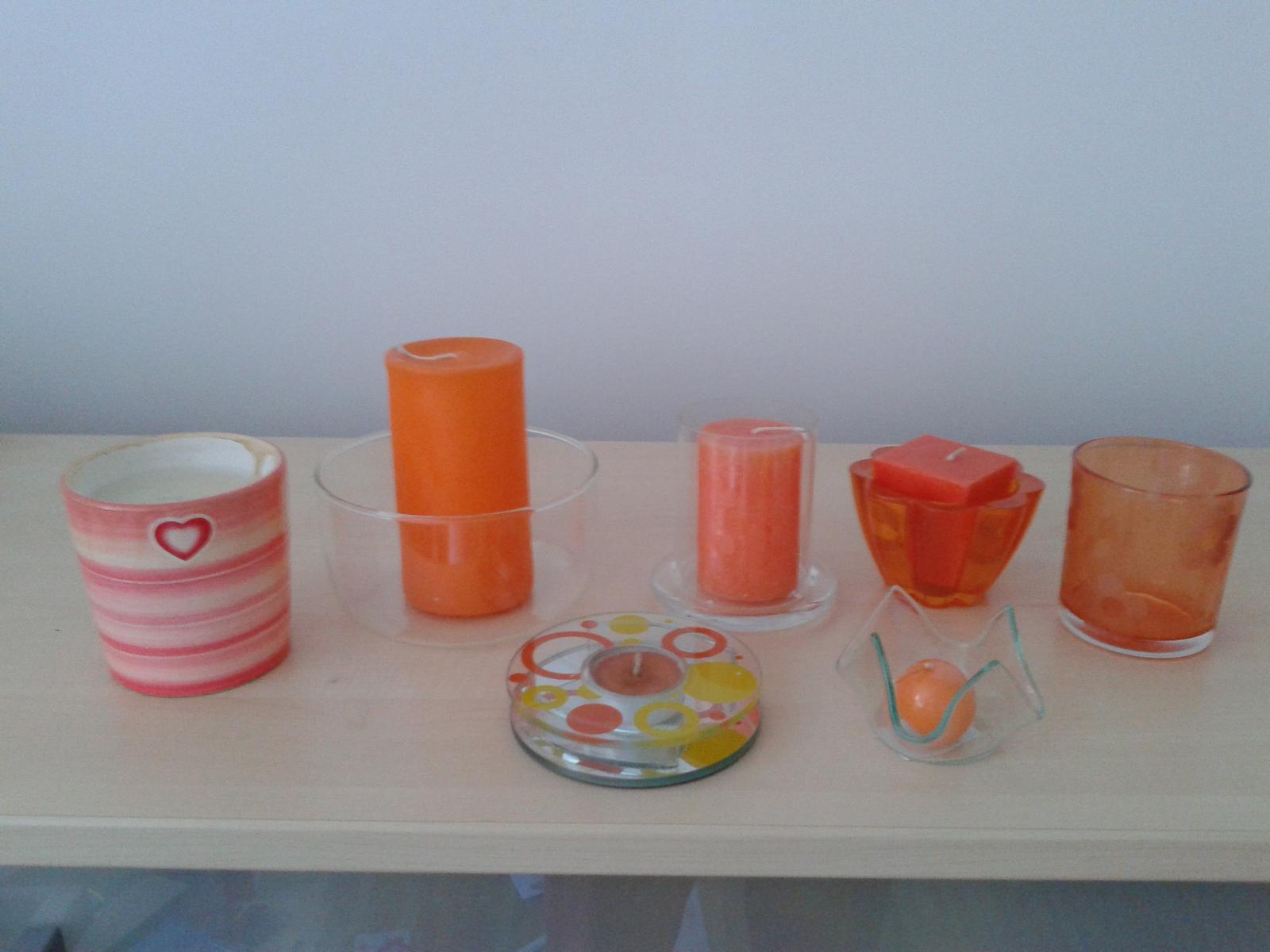 dekorácie oranžové - Obrázok č. 1